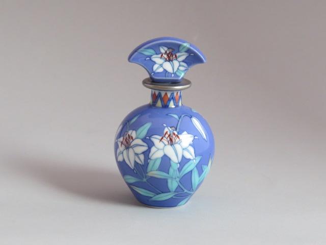 ルリカサブラン丸香水瓶