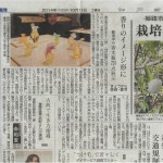 神戸新聞にコメントが掲載されました。